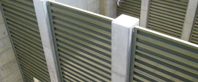 NEFCO FRP Baffle Walls