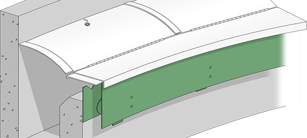 NEFCO Announces a Multi-Panel Mounting Section for Its Algae Cover Systems